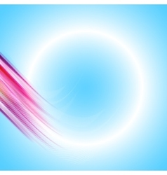 Abstract background vortex vector image