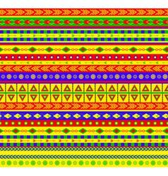aztec pattern vector image