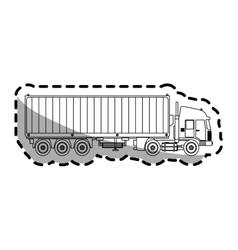 Cargo truck vector