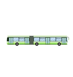 City road bus transport vector