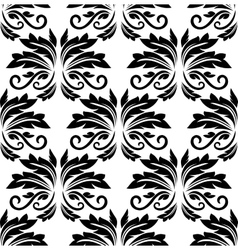Floral seamless arabesque pattern vector
