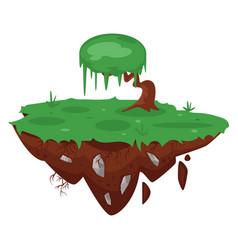 Game green island vector