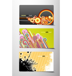 gift cards vector image