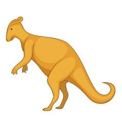 oviraptor icon cartoon style vector image