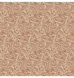 Seamless abstract hand-drawn curly pattern with vector image
