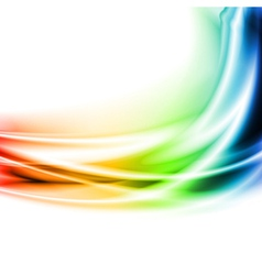Colourful waves vector image