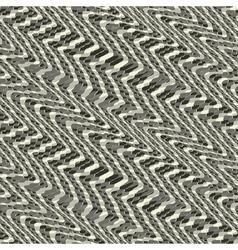 wavy grid ornament vector image
