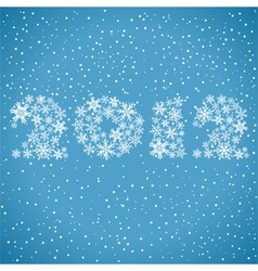 2012 christmas background vector image vector image
