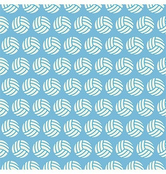 Flat seamless sport and recreation volleyball vector