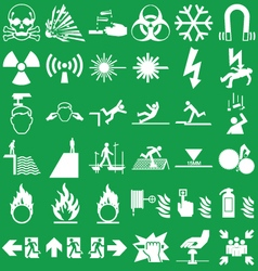 Hazard and danger Graphics vector image