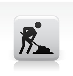 Work in progress icon vector
