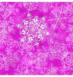 Christmas magenta background vector image