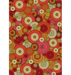 japan pattern vector image vector image