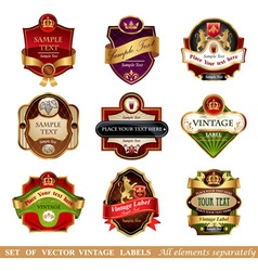 Labels vector