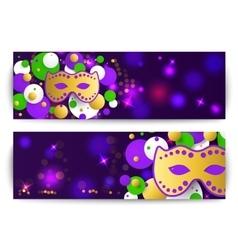 Mardi gras background vector