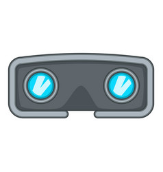 Vr glasses icon cartoon style vector