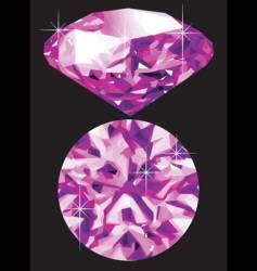 amethyst vector image