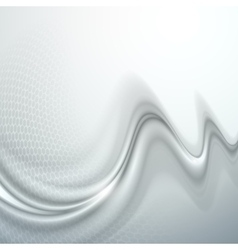 Gray abstract wave vector