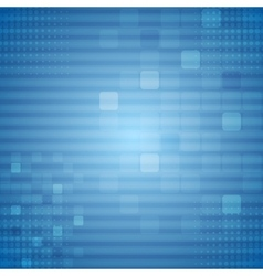 Bright blue technical background vector image