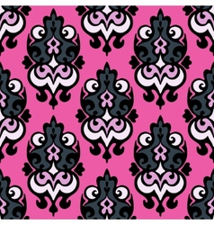 Abstract damask seamless vector