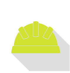 Baby sign pear icon with flat style vector