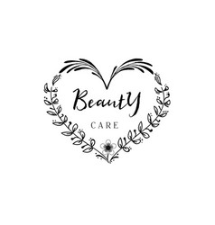 Badge for small businesses - beauty care salon vector