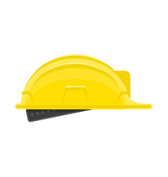 construction helmet icon vector image vector image