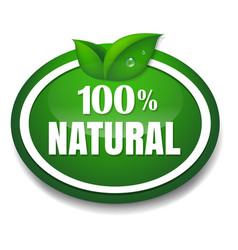 Nature tag vector