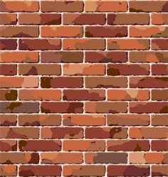 old brick wall seamless pattern vector image