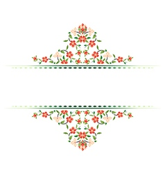 Decorative Background sixty four vector image