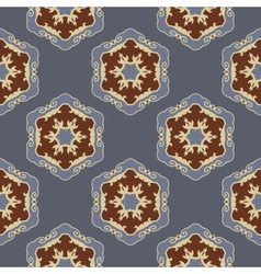 Ethnic seamless ornamental pattern vector