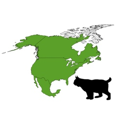Lynx range map vector