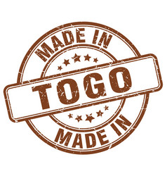 Made in togo vector