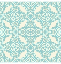 Damask seamless pattern luxury vector