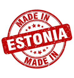 Made in estonia vector