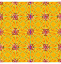Abstract seamless pattern with fractal star on a vector image