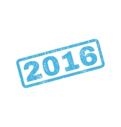 2016 rubber stamp vector