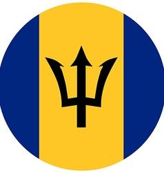 Barbados flag vector image vector image