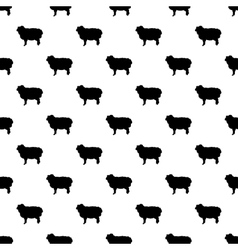 Ram pattern seamless vector image vector image