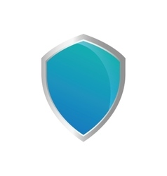 Shield protection security system icon vector