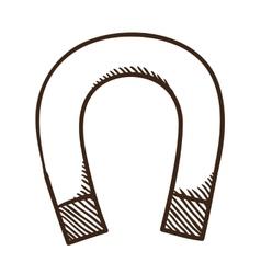 Magnet symbol vector image