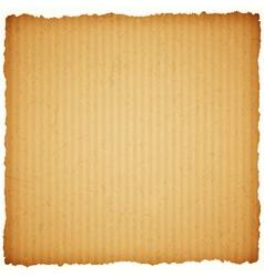 Square cardboard paper frame vector