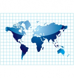 grid world vector image vector image