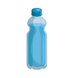 isolated water bottle vector image