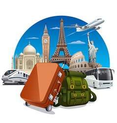 journey concept vector image vector image