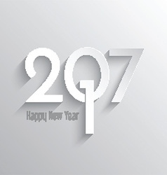 Minimilist happy new year background 0410 vector
