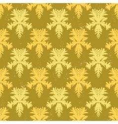 Simple elegant block printed pattern vector