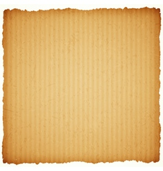square cardboard paper frame vector image
