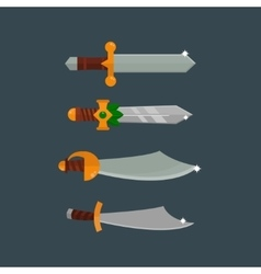 Knifes weapon vector