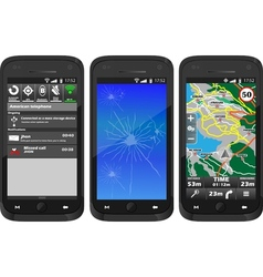 Real smartphone fourth edition vector